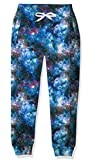 Teens Galaxy Graphics Sweatpants 14-16 Years Old Boys Blue Nebula Print Track Pants for Young Children Baggy Jogger Active Wear Girls Casual Tie Dye Legging