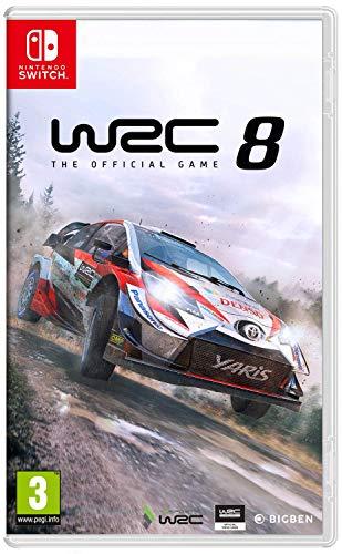 avis jeu de voiture switch professionnel WRC 8 – Nintendo Switch [Français, Allemand, Anglais, Espagnol, Italien]