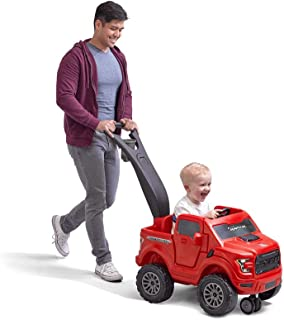 Step2 2-in-1 Ford F-150 Raptor | Kids Ride On Push Car | Red (483600)