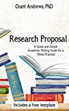 Research Proposal: Academic Writing Guide for Graduate Students (Essay and Thesis Writing) (English Edition)