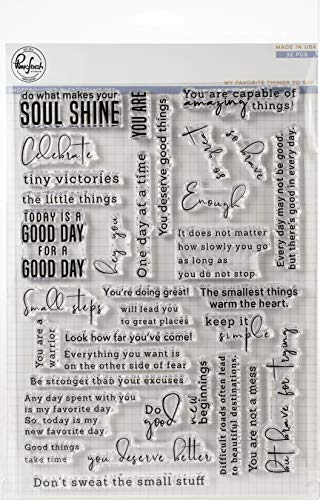 Pinkfresh Studio Clear Stamp Set 6'X8'-My Favorite Things to Say