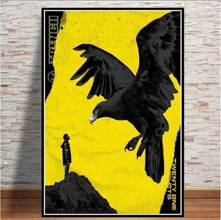 ysldtty Pintura sobre Lienzo Twenty One Pilots Rock Music Band Trench Tour Poster Prints Wall Art Modern For Living Room Decor D296 Sin Marco 40cmx60cm