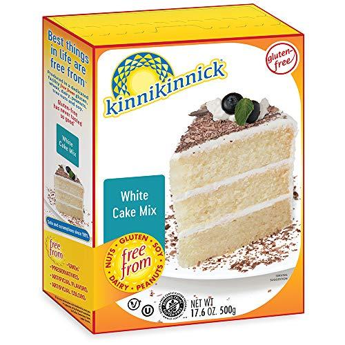 Kinnikinnick Gluten Free White Cake Mix, 17.6oz/500g (Pack of 6)