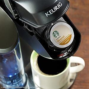 Starbucks Medium Roast K-Cup Coffee Pods — Caramel for Keurig Brewers — 10 Count (Pack of 6)