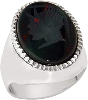 bloodstone ring mens
