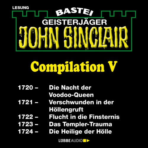 John Sinclair Compilation V audiobook cover art