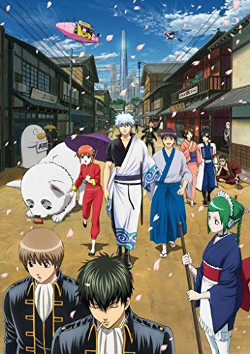 Daaint baby Gintama Customized 14x20 Inch Silk Print Poster/Wallpaper Great Gift