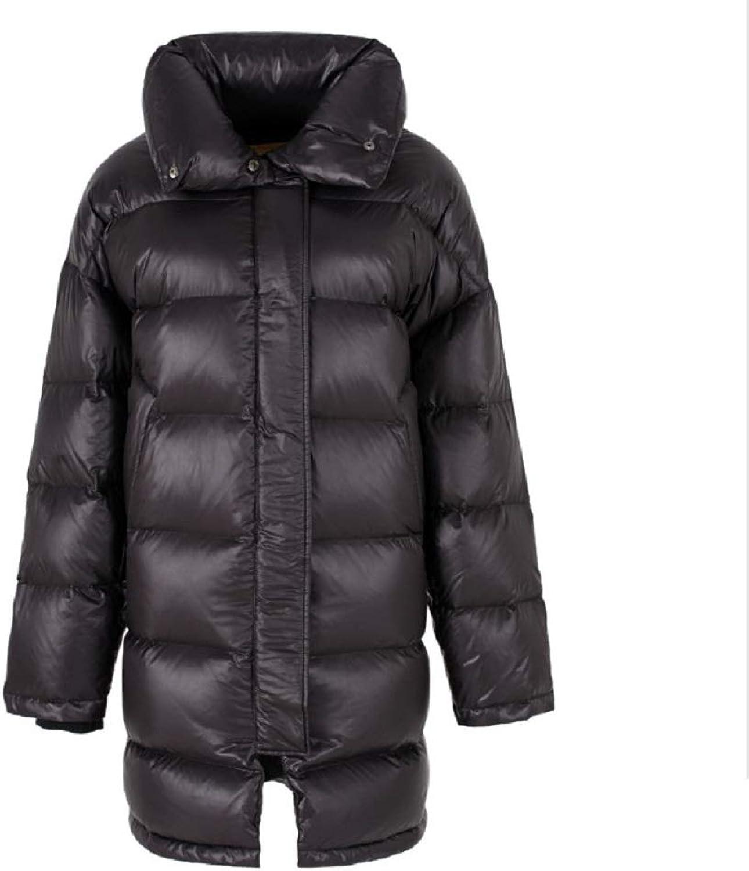 Aehoor Womens Winter Down Jacket Thick 90% Duck Down Long Jacket Warm Slim Jacket