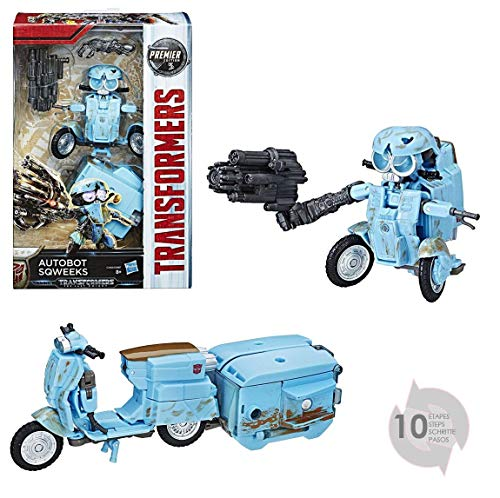 Hasbro Transformers C2403ES1 - Movie 5 Premier Deluxe Autobot Sqweeks, Actionfigur