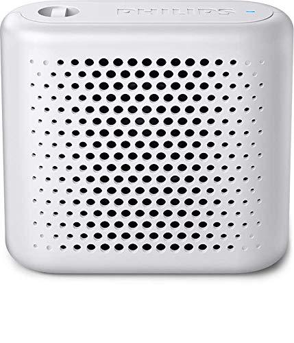 Philips BT55W/00 - Altavoz Bluetooth, Color Blanco