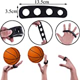 Best Basketball Shooting Aid & Dribble Training Goggles Set - Smart Basketball Shot Trainer Aids for Youth and Adults - Dribble Goggles and Shooter Trainer Equipment for Kids - 3 Sizes (Small)