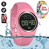 feifuns Smart Watch Non-Bluetooth Kid Pedometer Watch Sport Wristband IP68 Water-Resistant Swim...