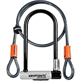 Kryptonite U-Locks, Lucchetto Kryptolok Mini-7 W-Frt Wheelboltz Pak Unisex – Adulto, 10....