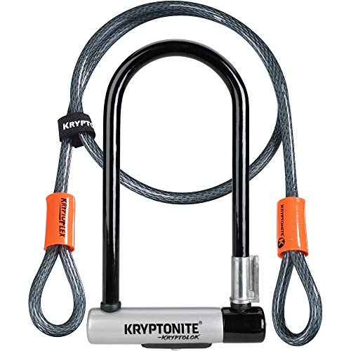 Kryptonite KryptoLok Standard Fahrradschloss + Kryptoflex 2017 Kabel