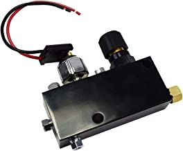 A Team Performance Adjustable Proportioning Valve Distribution Block Disc Drum Brake Street Rod Black