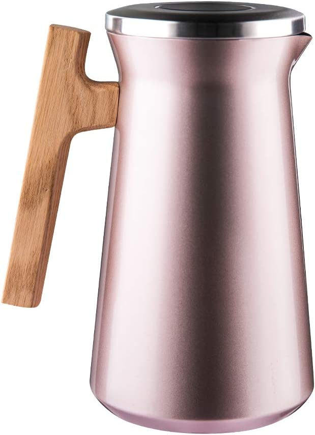 SDREAM 34 Oz Coffee Carafe Thermal Steel Stainless Max 87% OFF Kettle 35% OFF For Do