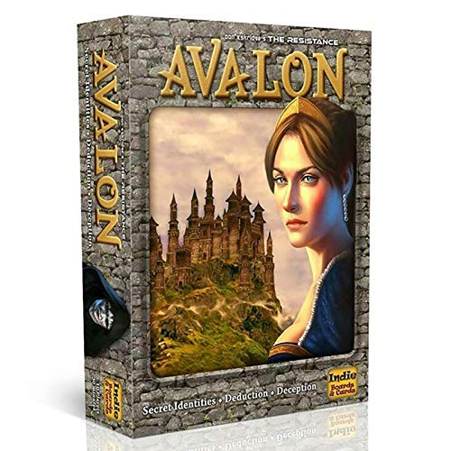 WSC Unabhängige Brett- Und Karten-Hidden-Agenda-Kartenspiele, Resistance Avalon Social Commentary Games, Tarot-Partyspiele (Englisch)(Color:B.)