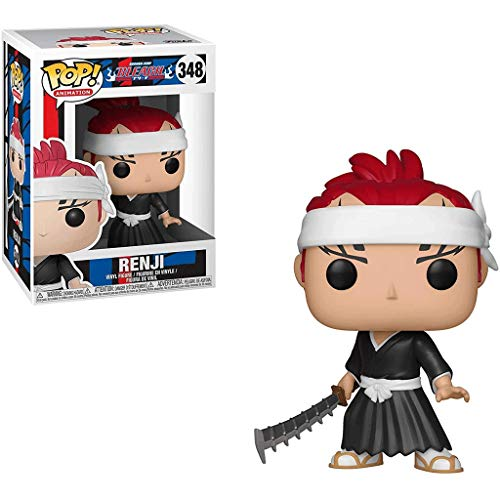 Gogowin POP Animtion : Bleach - Renji 3.75inch Vinyl Gift for Anime Fans Chibi Figure