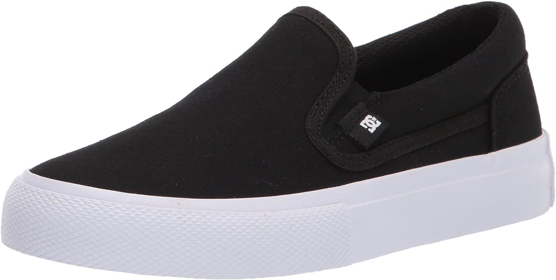 DC Unisex-Child Manual Slip-on Youth Skate Shoe