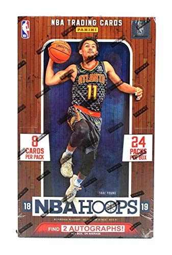 2018/19 Panini Hoops NBA Basketball HOBBY box