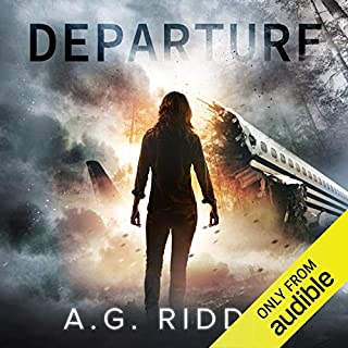 Departure audiobook cover art