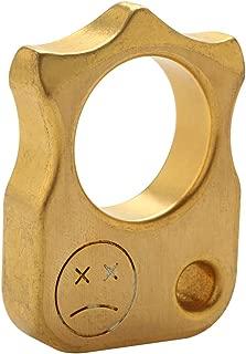 Wogoboo Copper Brass Multi Function Window Breaker Outdoor Pocket KeyChain EDC Tool