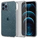 Spigen Cover Liquid Crystal Glitter Compatibile con iPhone 12 PRO Max - Crystal Quartz