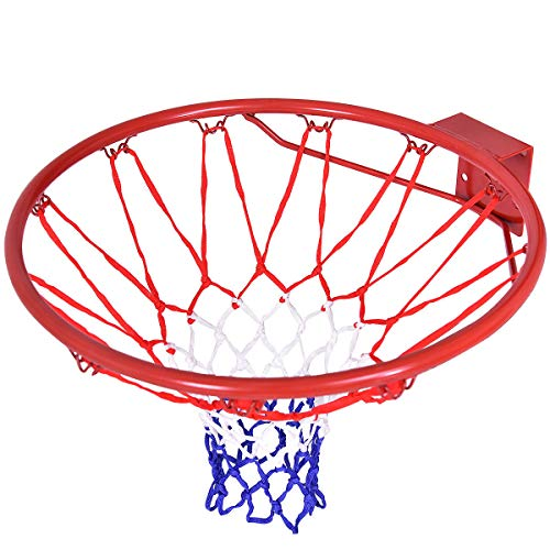 Best Price goodyusstore, for Health Benefit, Solid Steel Rim, Withstand Vigorous Play and Slam-Dunks...