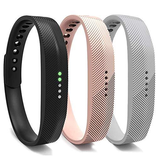 Bexido - Cinturino per Fitbit Flex 2, accessorio di ricambio in morbido silicone, per Fitbit Flex 2 Small