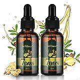 Hair Growth Serum, 30ml Ginger Germinal Essential Oil, Hair Growth Oil Dense Thicken