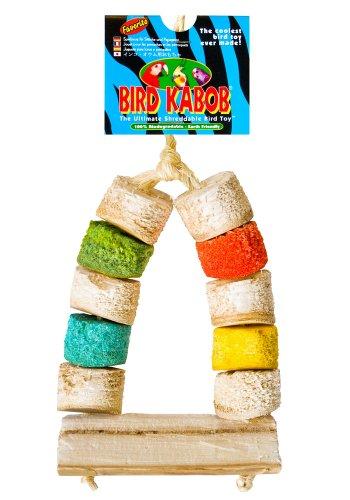 BIRD KABOB 4-1/2-Inch Favorito Chewable Perch
