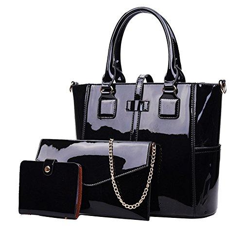 bolsas de charol negras fabricante Yan Show