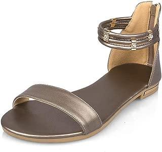 BalaMasa Womens ASL06863 Pu Fashion Sandals