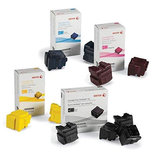 Genuine Xerox 108R00926 108R00927 108R00928 108R00930 for Phaser ColorQube 8570 8580 Ink Sticks (1 Set)