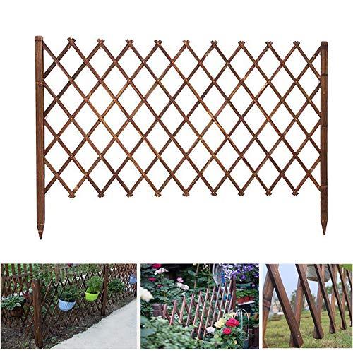 Picket-Zaun-Panels, Mobile Zaungärtner Fold-fähiges Design und leichte W: 30-150 cm aus Naturholz (Size : 120x250cm)