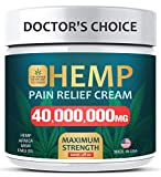 Pain Relief Cream - Maximum Strength 40,000,000 MG - Fast Relief from Pain, Ache, Arthritis & Inflammation - Made & 3rd Party Lab Tested in USA