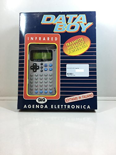 GIG DATA BOY Agenda Elettronica Vintage *NUOVA in imballo originale!*