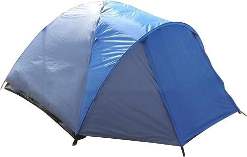 Xasclnis Camping en Plein air pour 3 Personnes ou 4 Personnes (Couleur   bleu)