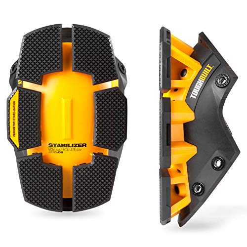 ToughBuilt - Stabilizer SnapShells for Gelfit ™ or FoamFit KneePads - Ergonomic Support and Adjustable Straps for a Comfortable Fit (TB-KPS-05)