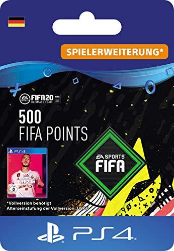 FIFA 20 Ultimate Team - 500 FIFA Points DLC - PS4 Download Code - deutsches Konto