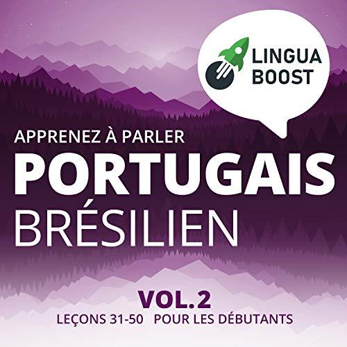 Couverture de Apprenez à Parler Portugais Brésilien Vol. 2