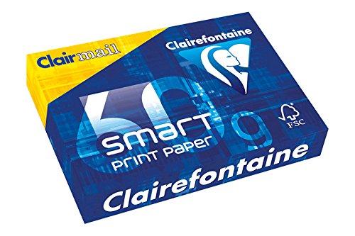 Clairefontaine 5 x Kopierpapier smart A3 60g/qm VE=500 Blatt weiß