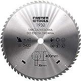 Lame de scie circulaire pour bois 400 x 30 mm avec 60 dents - Pour couper le bois de bois, le bois de chauffage avec scie...