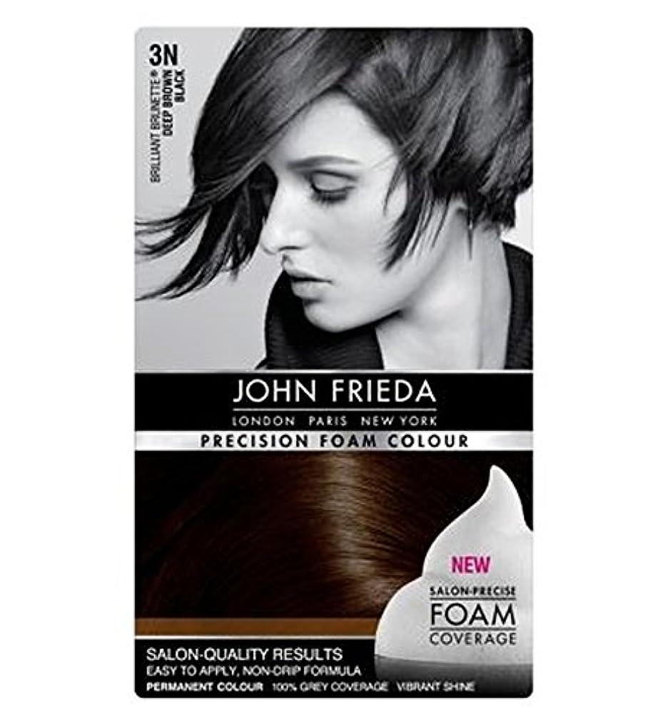 著作権から聞く安心させるジョン?フリーダ精密泡カラー3Nの濃褐色、黒 (John Frieda) (x2) - John Frieda Precision Foam Colour 3N Deep Brown Black (Pack of 2) [並行輸入品]
