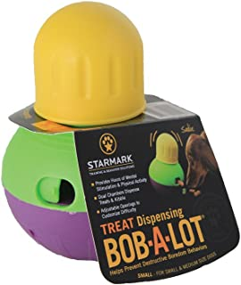 StarMark Bob-A-Lot Interactive Dog Toy