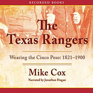 The Texas Rangers audiobook cover art