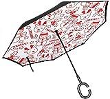 reiseregenschirm kompakt Mini Winddicht umberlla abweisend speziell für Cyber Monday Damen