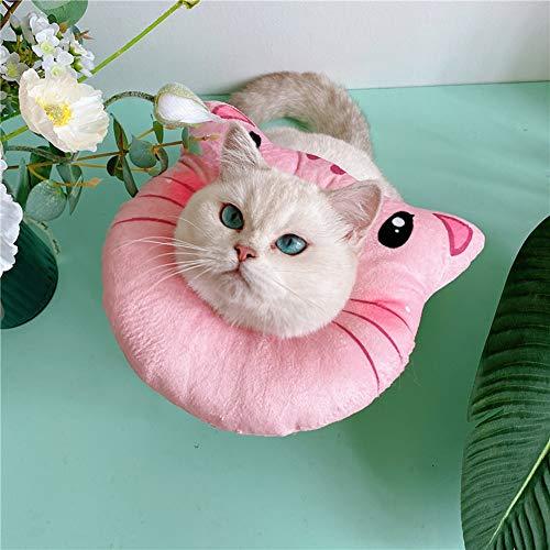 KVV Katzenhalsband für die Erholung von Katzen, weich, süßes Halsband für die...
