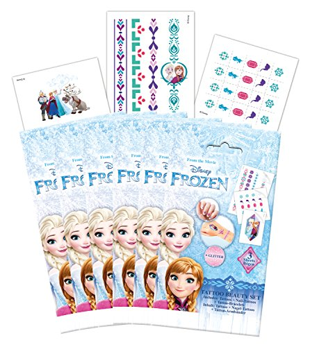 CRAZE 56463 – Tattoo Kit de beauté Disney Frozen Couleurs Assorties