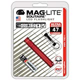 Mag-Lite Solitaire LED Blisterpack - Linterna llavero, color rojo, talla NA